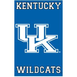 Kentucky Wildcats Nylon Banner Flag