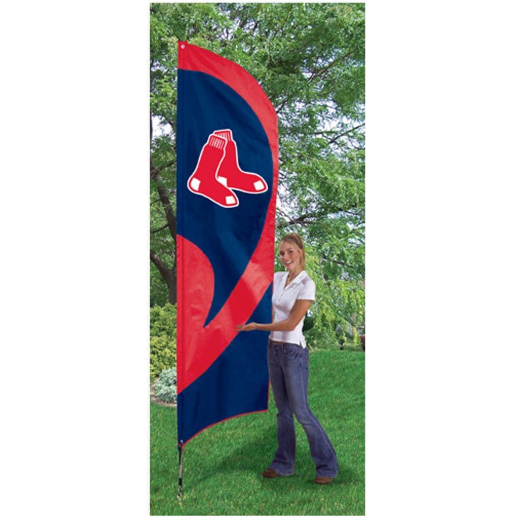 Boston Red Sox Tall Nylon Team Flag