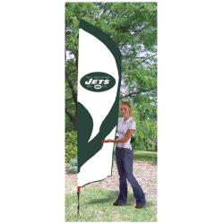New York Jets Tall Nylon Team Flag
