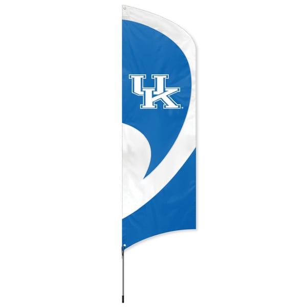 Kentucky Wildcats Tall Nylon Team Flag