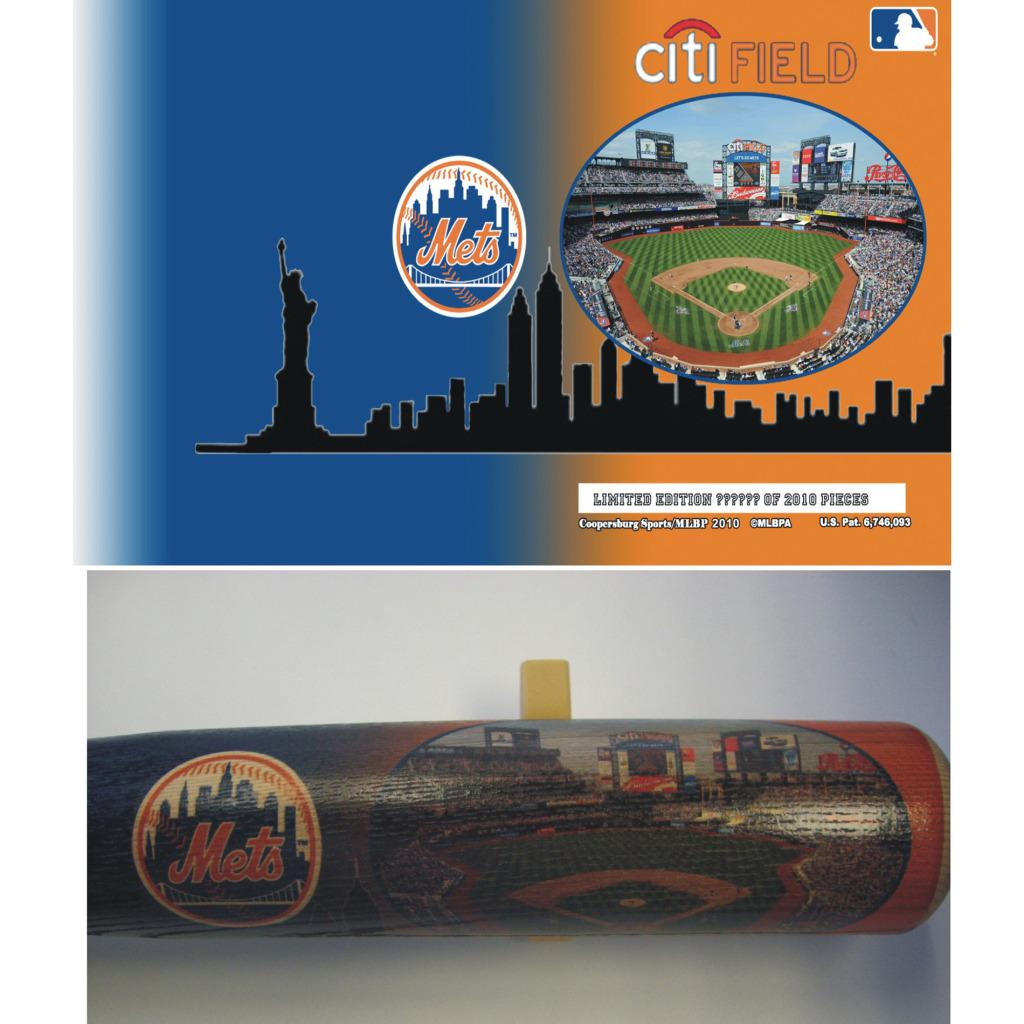New York Mets 34-inch Stadium Bat
