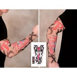 Philadelphia Phillies Tattoo Sleeves (Pack of 2)