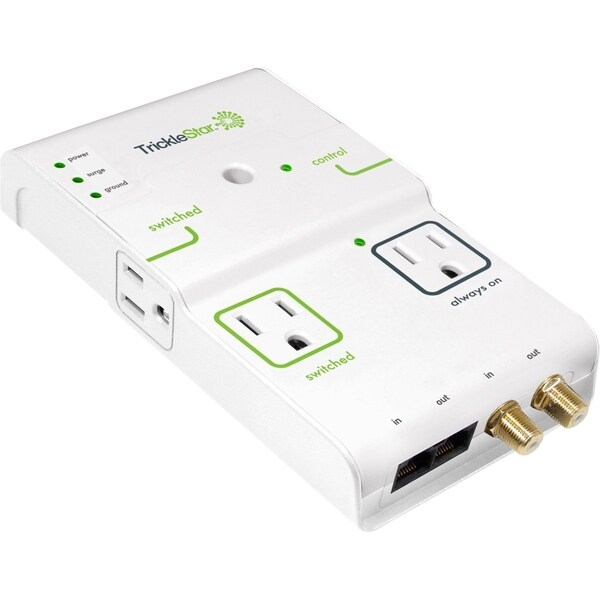 TrickleStar Advanced PowerTap 175SS-US-4CD 4-Outlets Surge Suppressor