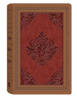 The KJV Study Bible: King James Version, Dicarta Antique, Red Letter Edition (Paperback)