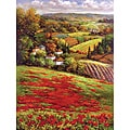 Hulsey 'Valley View III' Gallery-wrapped Canvas Art