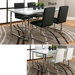 Hudson Black Dining Chairs (Set of 2)