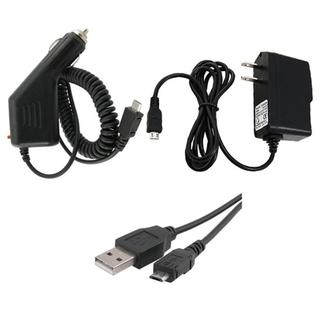 3-piece 2-in-1 USB Cable/ Chargers Combo for Amazon Kindle 3