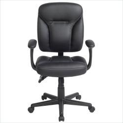 Comfort Plus Black Manager Ergonomic Office Chair
