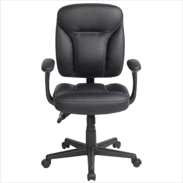 Comfort Plus Black Manager Ergonomic Office Chair