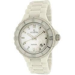Le Chateau Women's White Ceramic Watch