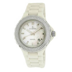 Le Chateau Women's 'Condezza LC' Water-resistant Ceramic Watch