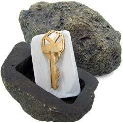 As Seen on TV Hide-a-key Realistic Rock Key Holder