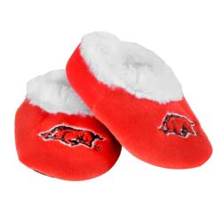 NCAA Arkansas Razorbacks Baby Bootie Slippers