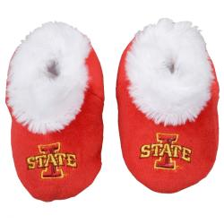 Iowa State Cyclones Baby Bootie Slippers