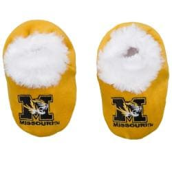 Missouri Tigers Baby Bootie Slippers