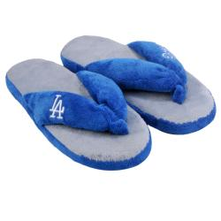 MLB Los Angeles Dodgers Women's Flip Flop Thong Slippers