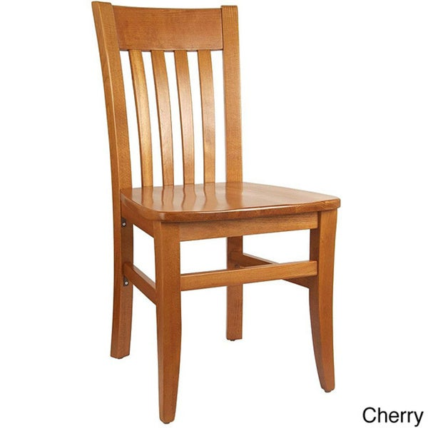 Jacob Wood Dining Chairs Set of 2 Overstock Shopping