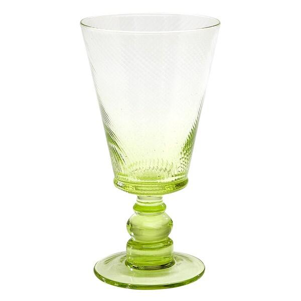 Roma Goblet Green (Set of 4)