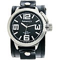 Nemesis Men's Black Oversized Watch