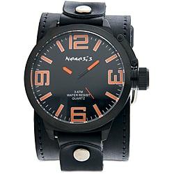 Nemesis Men's Oversized Orange Marker Watch