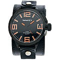 Nemesis Men's Oversized Orange Marker Watch