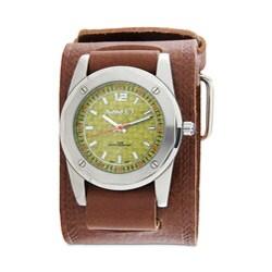 Nemesis Men's Yellow Wicker Dial Watch