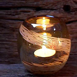 Pearl Amber Votive (Set of 4)