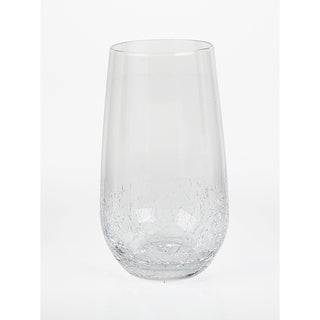 Impulse! Crackle Highball Glasses (Set of 4)