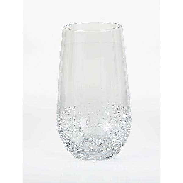 Impulse! Crackle Highball Glasses (Set of 4)