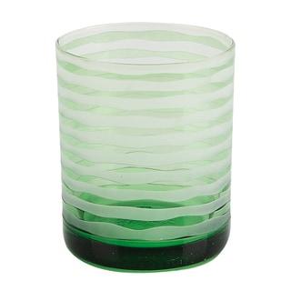 Impulse! Vienna Green Rocks Glasses (Set of 4)