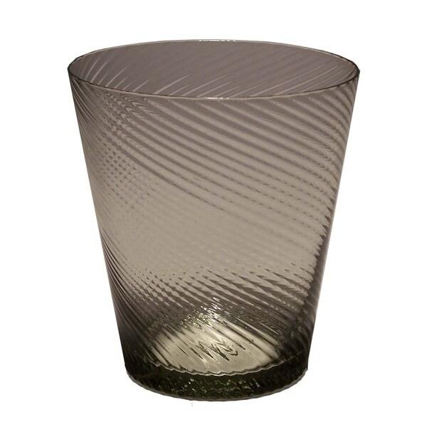 Impulse Roma Smoke Rocks Glasses (Set of 4)