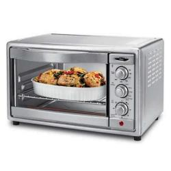 Oster 6-slice Stainless Steel Convection Toaster and Broiler Oven