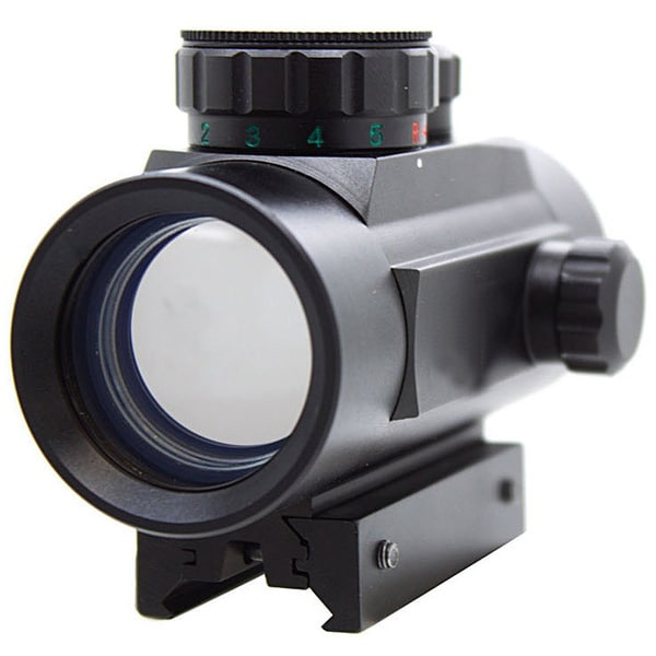 30-millimeter Aluminum Red/Green Dot Sight with Multicoated Optics