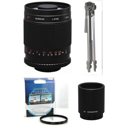 Rokinon 500mm/ 1000mm Lens Kit for Sony Alpha (Refurbished)