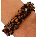 Isabela Mocha Mood Bead and Crystal Bracelet (Guatemala)