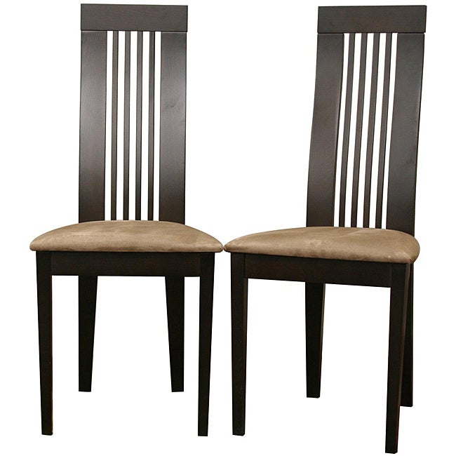 Farrington Dark Brown Dining Chairs (Set of 2)