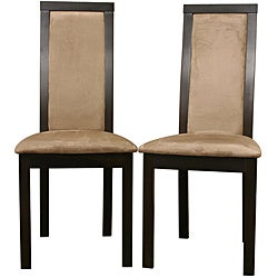 Pollard Dark Brown Dining Chairs (Set of 2)