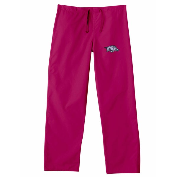 Gelscrub Unisex Red Arkansas Razorbacks Scrub Pants