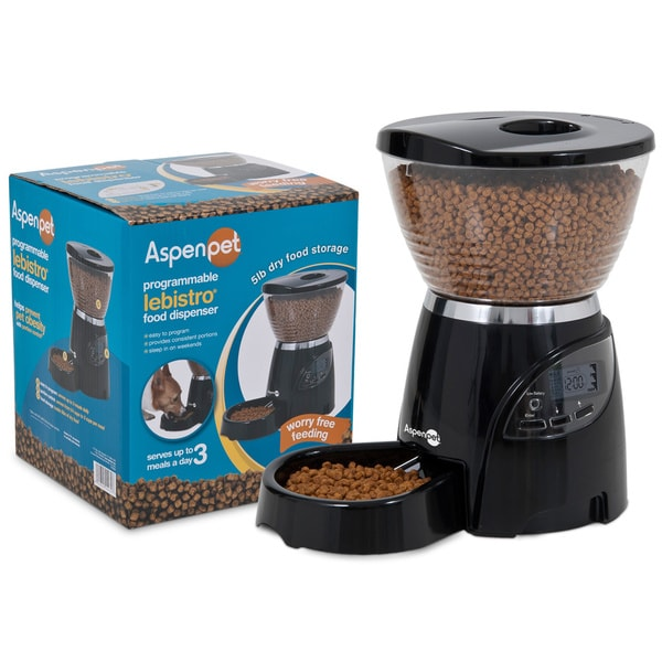 Aspen Pet LeBistro Five-pound Programmable Portion Control Pet Feeder