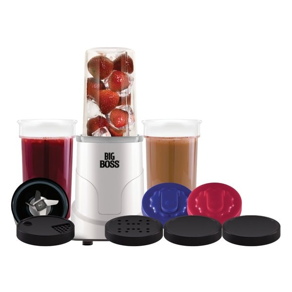 Big Boss 15-Piece Hi Speed 300-Watt Personal Countertop Blender Mixing System
