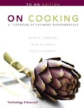On Cooking: A Textbook of Culinary Fundamentals: To Go (Paperback)