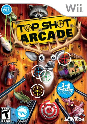 Wii - Top Shot Arcade - By Activision