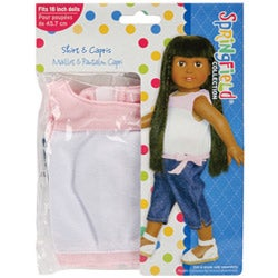 Springfield Collection Shirt and Capris Doll Clothes