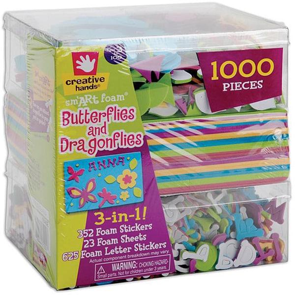 3-in-1 'Butterflies & Dragons' Foam Kit