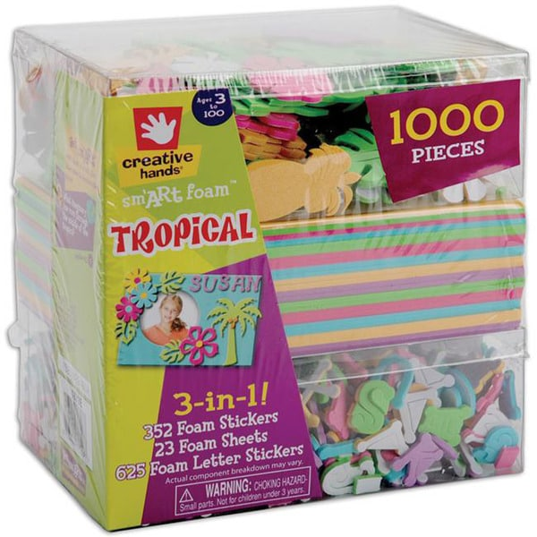 3-In-1! 'Tropical' Foam Kit