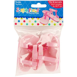 Springfield Collection Pink Strappy Sandals
