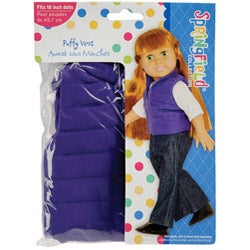Springfield Collection Puff Vest Doll Clothes
