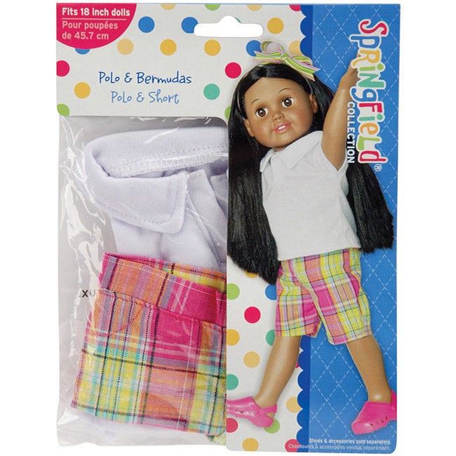 Springfield Collection Shirt and Shorts Doll Clothes