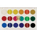 Dry Pan 18-Color Watercolor Paint Cakes