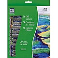 Loew Cornell 24-tube Oil Paint Set